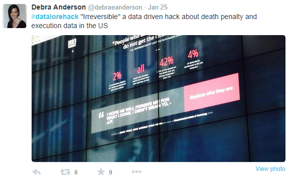 新聞界的駭客松 - 大數據變身互動式報導